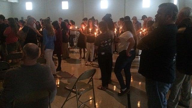 Vigil held for Dillon Ray Spears. (6/19/17 FOX Carolina)
