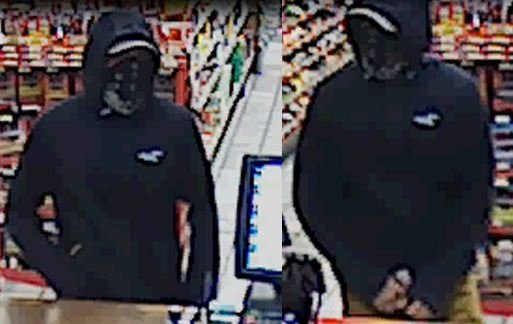 Photo of the male suspect (Courtesy: APD)