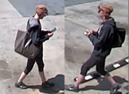Photo of the female suspect (Courtesy: APD)