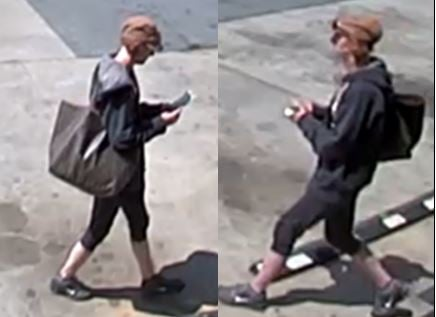 Photo of the female suspect (Courtesy: APD)