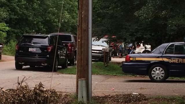 Scene on Sumter Street (Source: iWitness)
