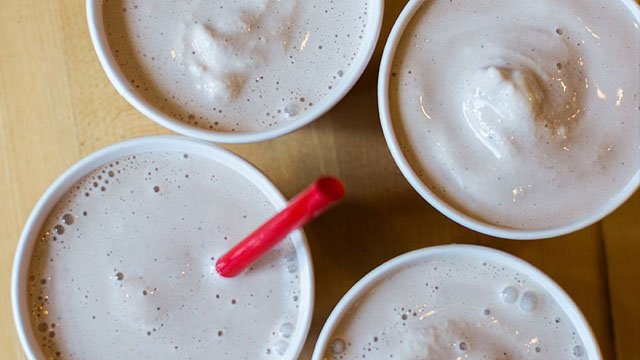 Wayback Burgers milkshakes (courtesy: Wayback Burgers/ Twitter)