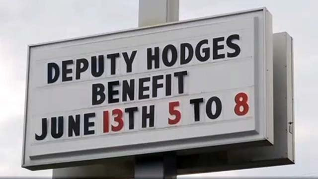 Benefit for Deputy Hodges' family at Domino's (file/FOX Carolina)