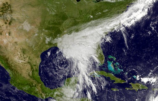 Remnants of Tropical Depression Cindy threaten U.S. southeast with flooding