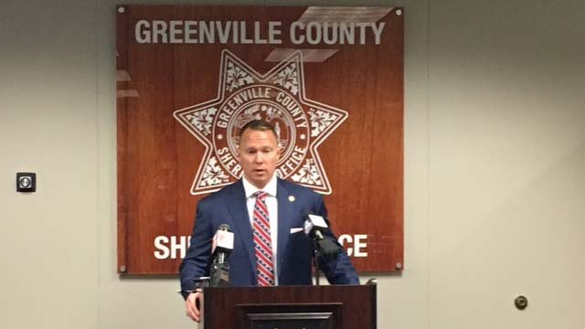 Greenville County Sheriff Will Lewis indicted, suspended by governor