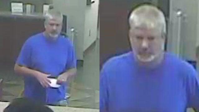 Spartanburg bank robbery suspect (Source: Spartanburg PD)
