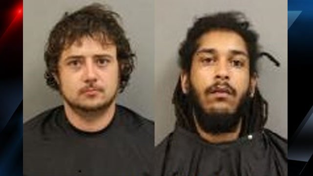 Trammell (left) and Wilson (Courtesy: NCSO)