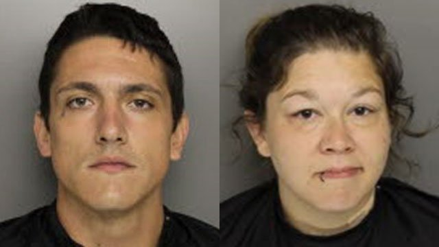 Lance Haberle and Amanda Breazeale (Source: Greenville Co. Detention Center)