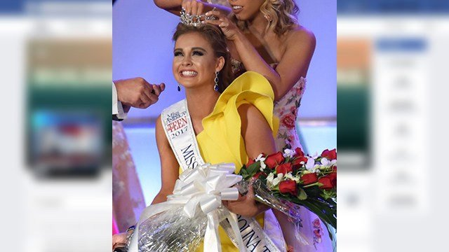 Miss South Carolina Teen 2017, Ally McCaslin (Source: Miss South Carolina Scholarship Organization)