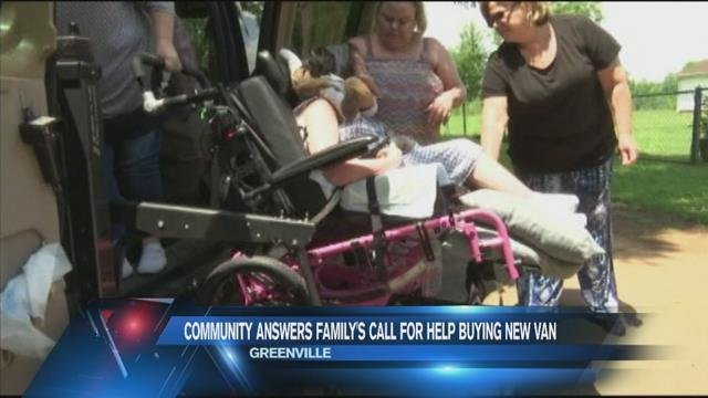 Community answers family's call for help buying new van