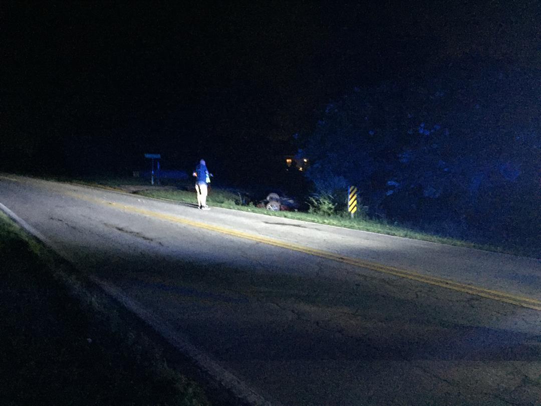 Scene of Anderson Co. rollover wreck (FOX Carolina/ 6/24/17)