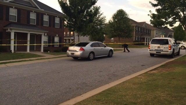 Scene of shooting in Spartanburg. (6/26/17 FOX Carolina)