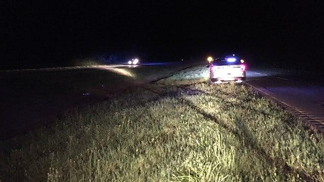 Scene of fatal crash on Highway 72 (June 27, 2017/FOX Carolina)