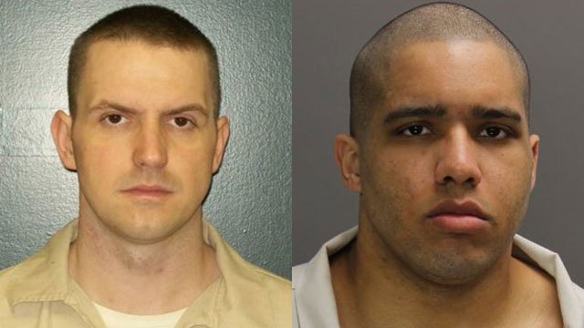 Denver Simmons (L) and Jacob Philip (Source: SC Department of Corrections)