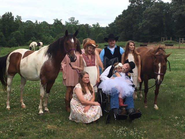 The Peppers' wedding. (June 25, 2017/FOX Carolina)