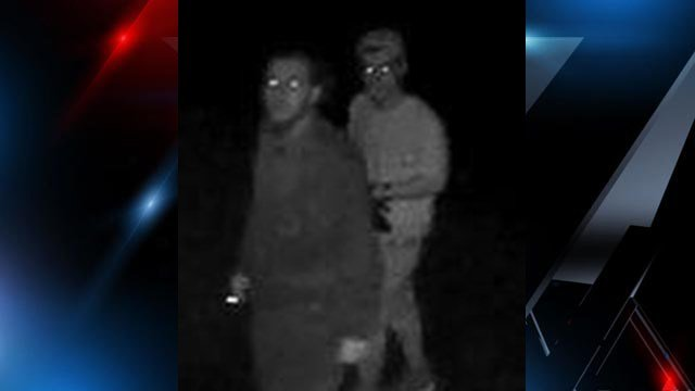 Subjects deputies say were caught on camera stealing from the Heritage Memorial Gardens Cemetery. (Source: SCSO)