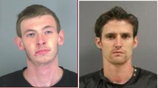 Brandon Kyle Parris (left) and William Grady Swofford III (right) (Source: Spartanburg Co. Detention Center, Cherokee Co. Detention Center)