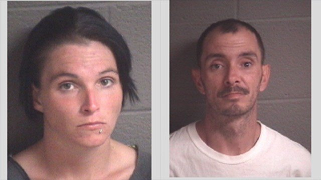 Christine Marie Braswell (left) and Robert Edward Raines (right) (Source: Asheville PD)