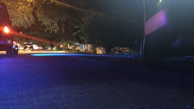 Scene of law enforcement presence on M Street in Anderson (FOX Carolina/ 6/28/17)