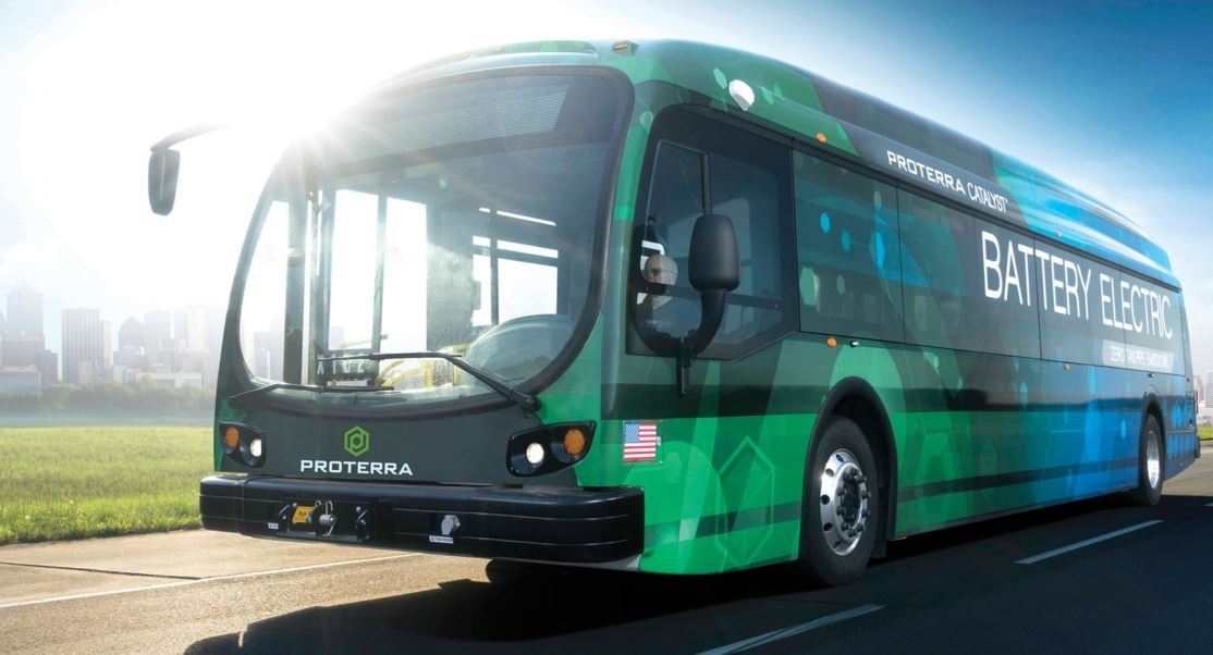 Photo of the new Proterra buses (Courtesy: City of Greenville)