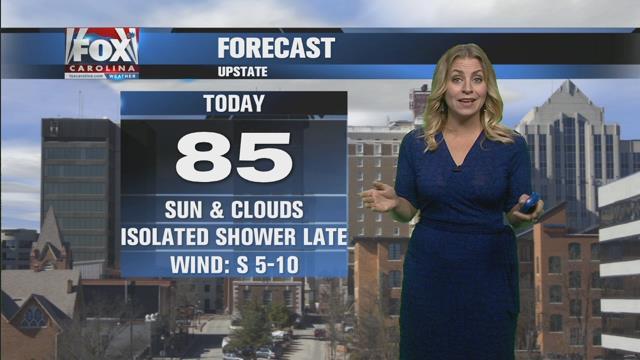 Nicole: Sun & clouds with slight rain chance Thursday
