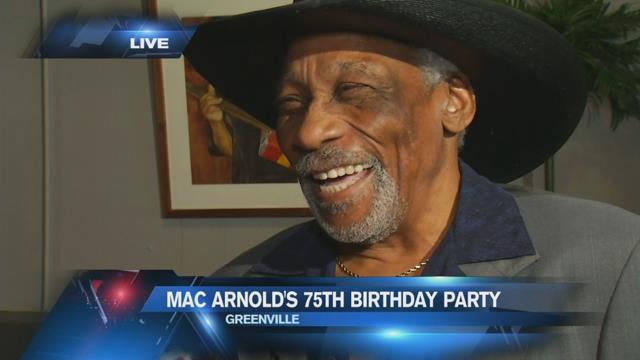 Blues legend Mac Arnold planning birthday bash