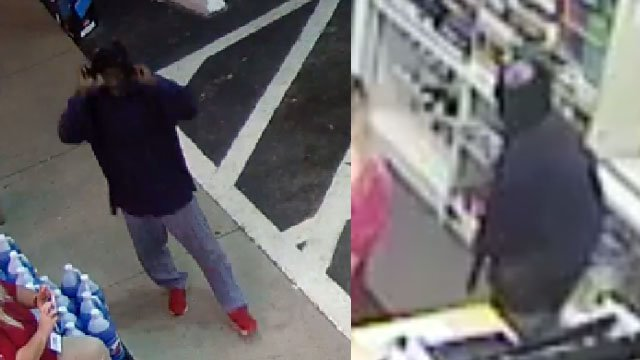 Photos of the suspect (Courtesy: Spartanburg Co. Sheriff's Office)