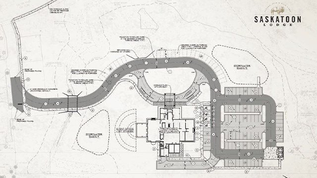 Layout for new Saskatoon Lodge (Source: The Brand Leader)