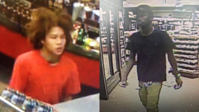 Suspects in cashing of stolen lotto tickets (Source: GPD)