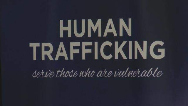 Church members trained on human trafficking. (June 29, 2017)