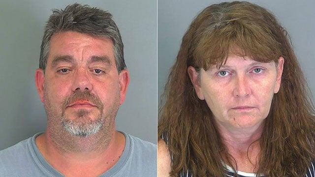 Rodney and Allison Burger (Source: Spartanburg Co. Detention)