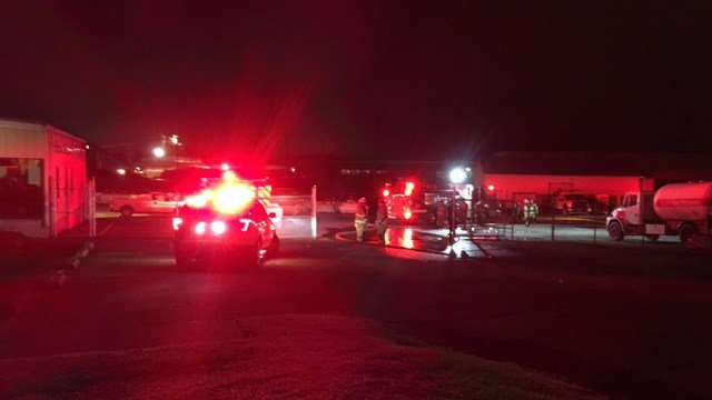 Crews respond to propane truck fire on White Horse Road (FOX Carolina/ 6/30/17)