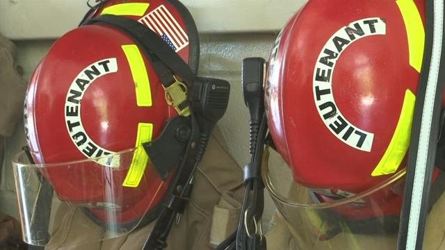 Fire gear. (7/3/17 FOX Carolina)