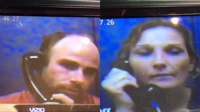 Connor (L), Baker-Felker (R) at bond court. (7/4/17 FOX Carolina)