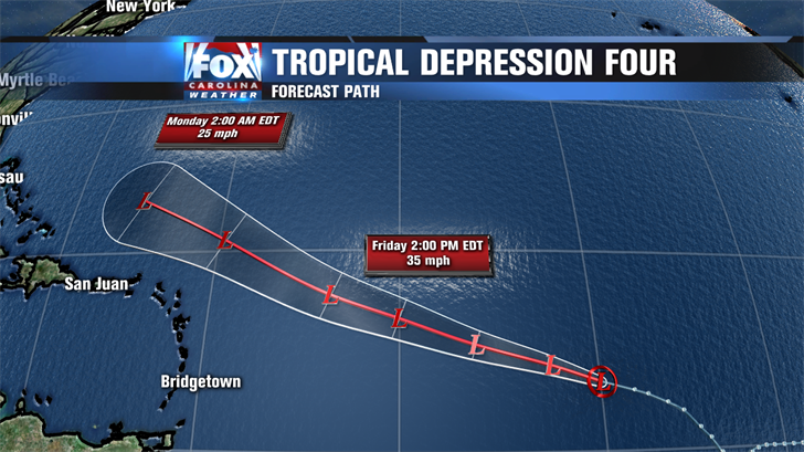 Hurricane Center: System could become depression today