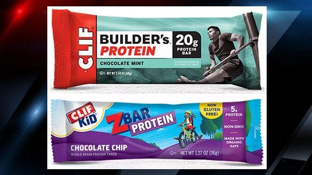 Recalled CLIF bars (Courtesy: FDA)