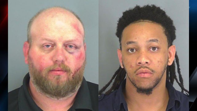 From left Christopher Boyd, Antonio Ferguson (Source: SCSO)