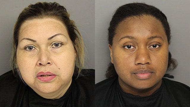 Veronica Perdomo (L) and Latoya Sanders (Source: GPD)