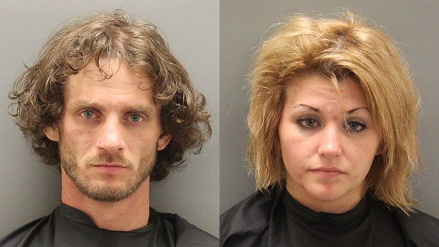 Dustin Mack Jones (left) and Caitlynn Denise Diminovich (right) (Source: OCSO)