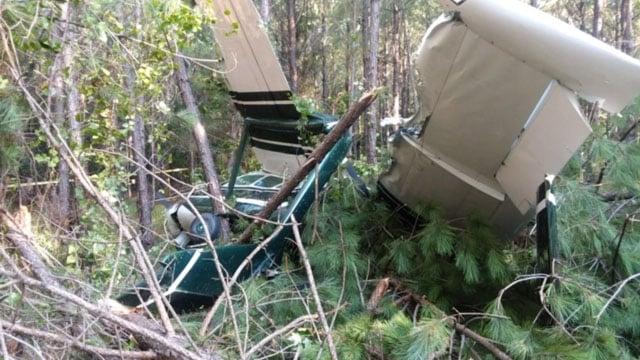 Plane crash (Courtesy: Greenwood Co. Sheriff's Office)