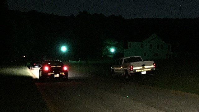 Scene of Greenville Co. shooting (FOX Carolina/ 7/8/17)