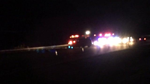 Scene of Anderson Co. crash (FOX Carolina/ 7/8/17)