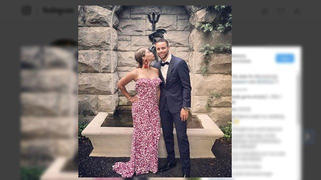 Steph and Ayesha Curry at Biltmore Estate. (Source: Instagram)