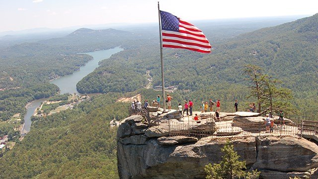 Chimney Rock State Park (Source: Wikimedia)