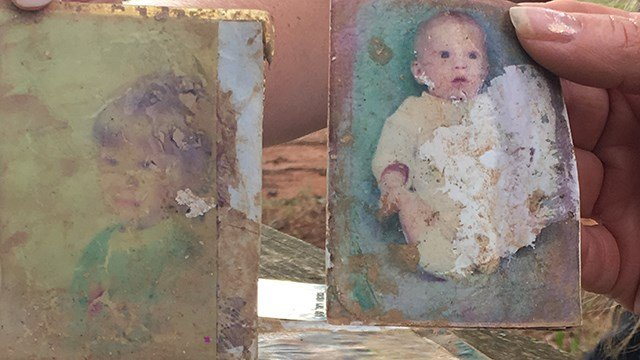 Photos of April Bolt's son. (7/10/17 FOX Carolina)