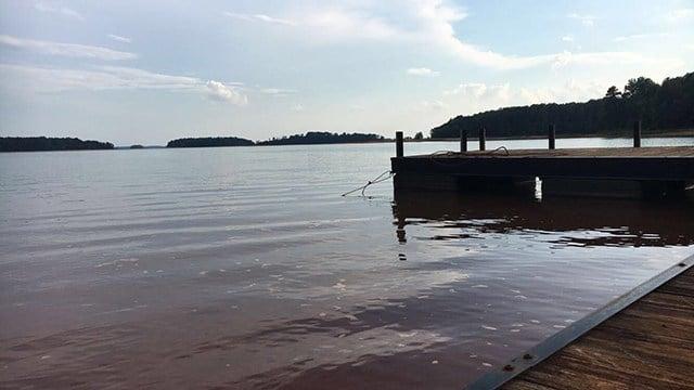 Lake Hartwell. (7/1017 FOX Carolina)