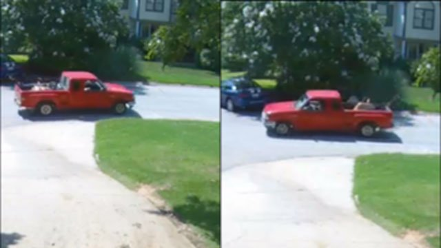 Suspect vehicle in scam investigation (Source: GCSO)