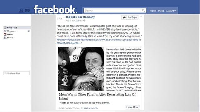 Facebook post by Washington mom (Source: Facebook)