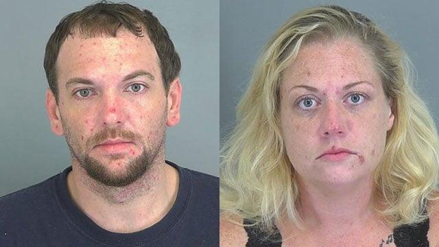 Jason Pace and Stefanie Wilson (Source: Spartanburg Co. Detention)