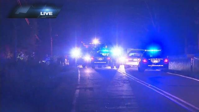 Scene of chase and crash on River Road (July 11, 2017/FOX Carolina)